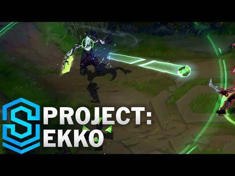 PROJECT: Ekko Skin Spotlight - League of Legends