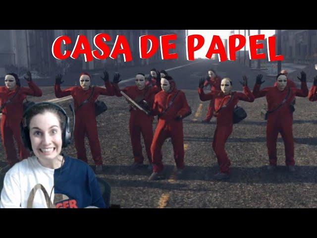 [FLASHLAND] Gladys & LA CASA DE PAPEL