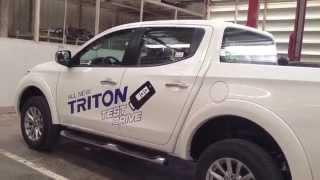 All-New 2016 Mitsubishi Triton test drive ks