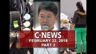 UNTV: C-News (February 22, 2019) PART 2
