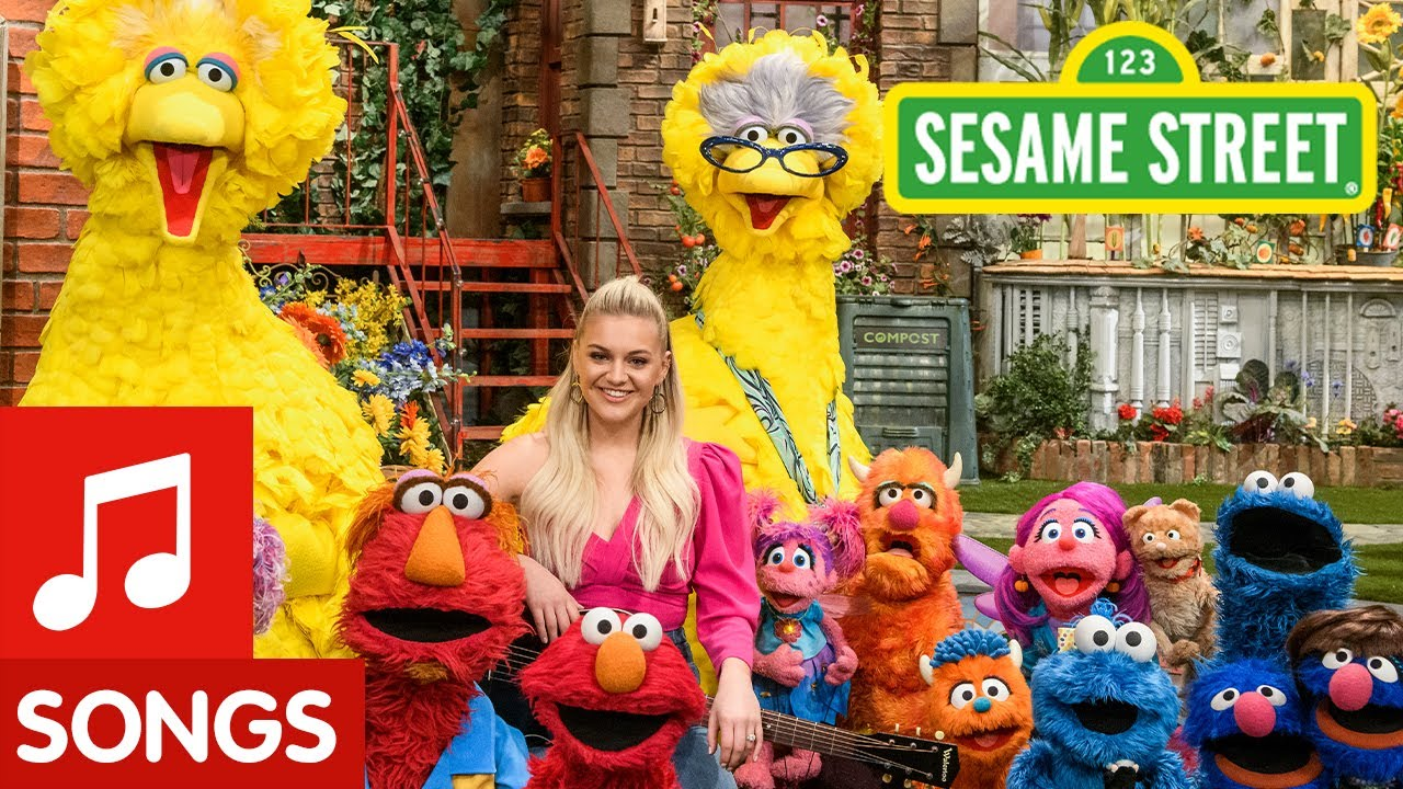 Sesame Street: Kelsea Ballerini Sings a Song About Families!
