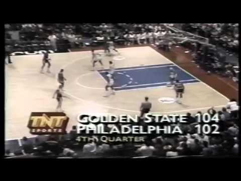 1989-90 Warriors vs. Sixers (7/8)