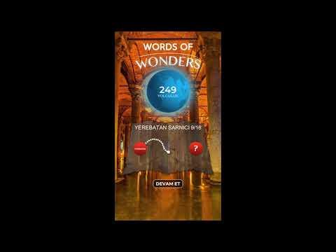 Words Of Wonders  Türkiye 1 Yerebatan Sarnıcı