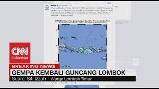 Breaking News! Penuturan Warga Soal Gempa 6,5 SR Yang Kembali Guncang Lombok