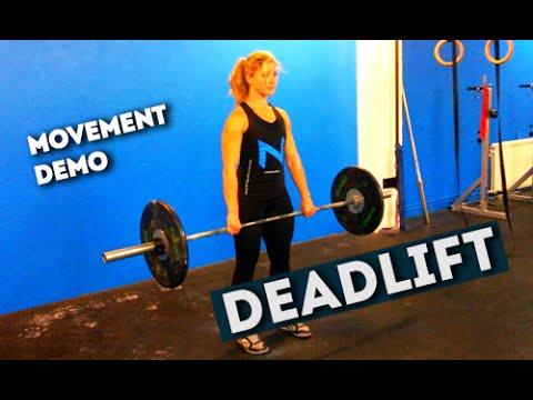 Movement Demo // Deadlift