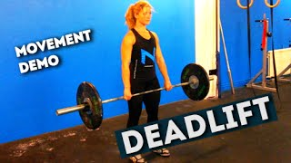 Movement Demo // Deadlift