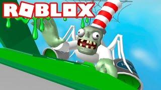 ZOMBIE DE SLIME EN ROBLOX - France Dr. Zombie's Slime Slide Roblox Espaol