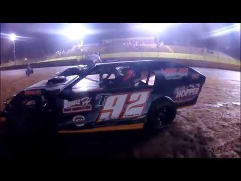 #t92 Ricky Tinch - Open Wheel - 9-2-16 - Crossville Speedway - In-Car Camera