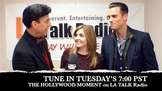 The Hollywood Moment on LA Talk Radio Promo with Jen Lilley and Thomas Beaudoin
