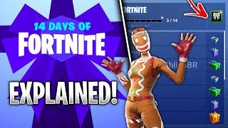 What is The 14 Days of Fortnite? (Free Items & OG Skins EVERY Day)