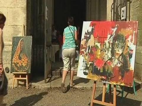 Peinture : Exposition Chevalets d'Essoyes 2010