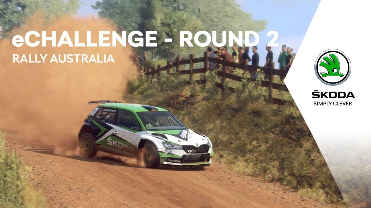 ŠKODA Motorsport eChallenge - Rally Australia