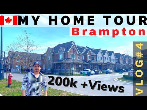 My Home Tour | Vlog 4 |  Brampton | Ontario CANADA | 1080p