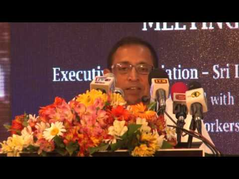 Executive Association - SriLankan Airlines - First AGM -2017 Speeches