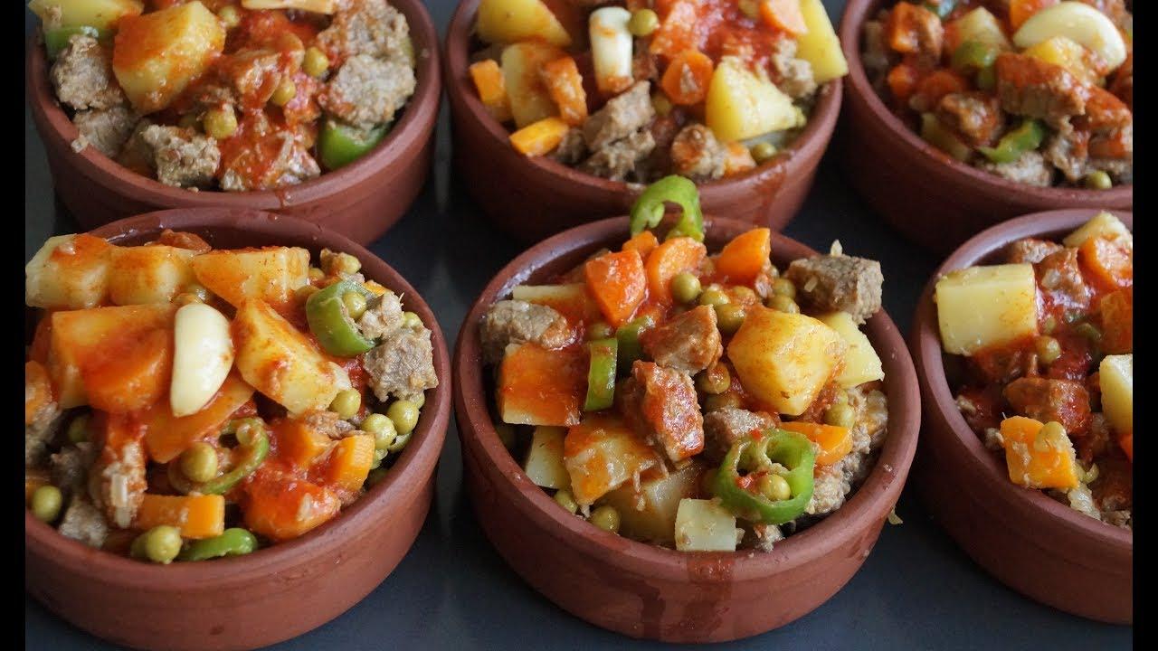 LEZZETLİ Sebzeli Etli Güveç Yemeği -  Nefis Yemek Tarifleri