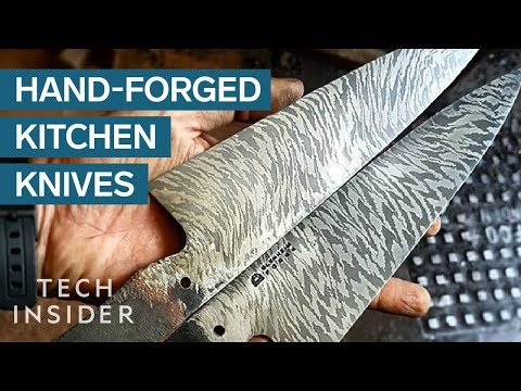 Watch A Skilled Bladesmith Make A $960 Kitchen Knife