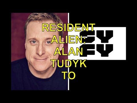 RESIDENT ALIEN: ALAN TUDYK TO STAR IN SYFY PILOT BASED ON DARK HORSE COMICS SERIES