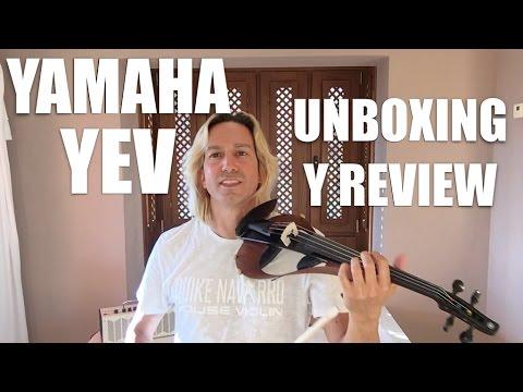 Unboxing y review. Nuevo YEV104 BL de Yamaha violín eléctrico