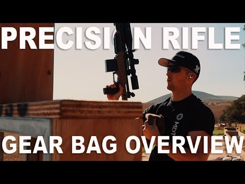 PRECISION RIFLE - Whats In My Drag Bag?