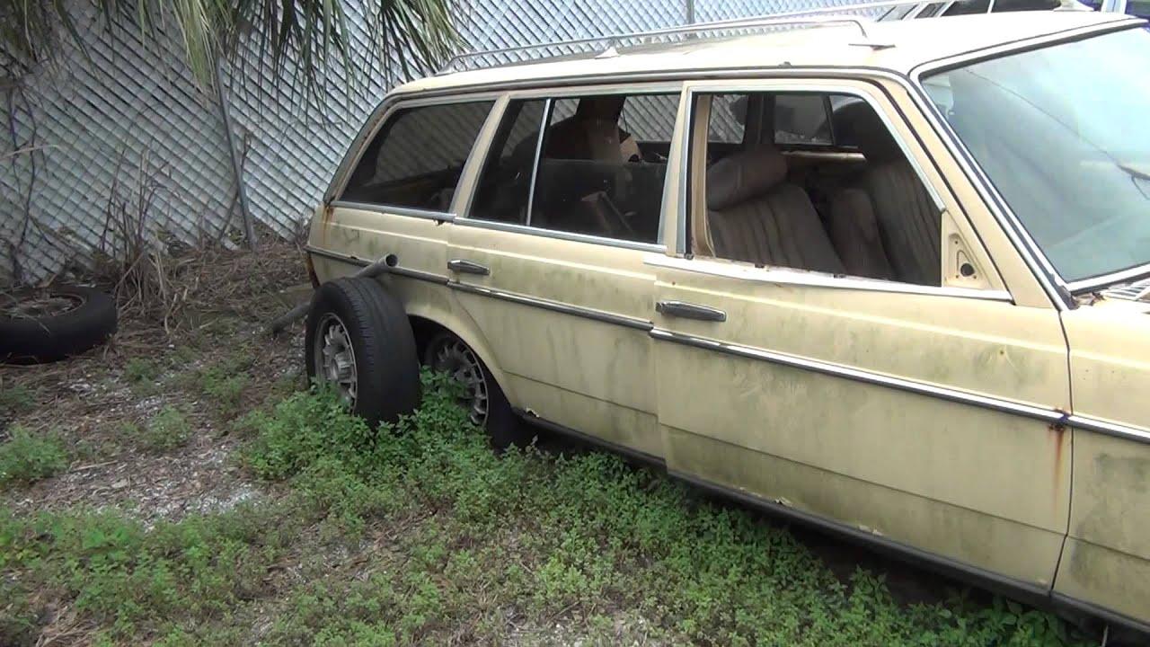 Rip poor old diesel mercedes 300td station wagon atleast for Mercedes benz wrecking yard