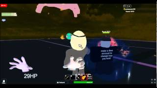 ROBLOX: Battling Master Hand and Crazy Hand
