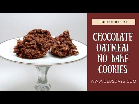 Chocolate Oatmeal No Bake Cookies Recipe