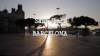 Viu el dia de Sant Jordi a Barcelona