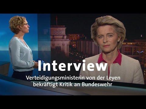 Interview: von der Leyen kritisiert Bundeswehr