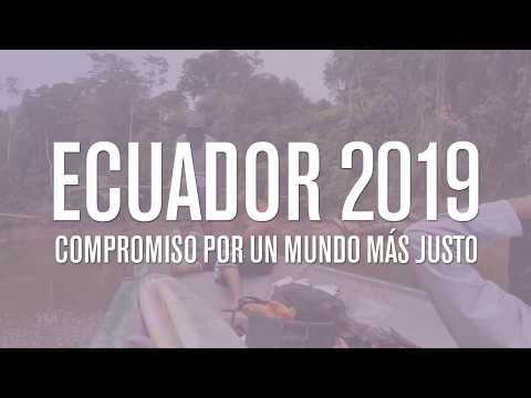 VIAJE PARA CONOCER LA REALIDAD DE ECUADOR