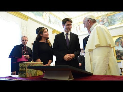 Trudeau has audience with the Pope