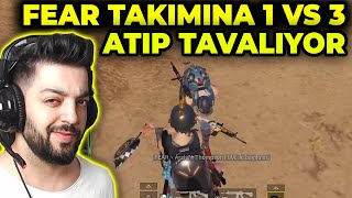FEAR TEAM VS ERSİN YEKİN 1 VS 3 !! ERSİN YEKİN TAVA ATTI