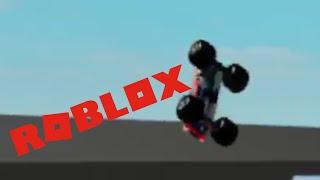 ROBLOX Monster Jam Blue Thunder (Me) vs Grinder (heyjoaqui10)