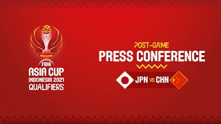 Japan v China - Press Conference | Asia Cup 2021 Qualifiers