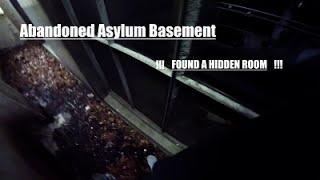 exploring abandoned asylum basement pov found a secret room gopro hero4session