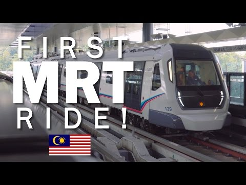 Malaysia's First MRT Line is now open