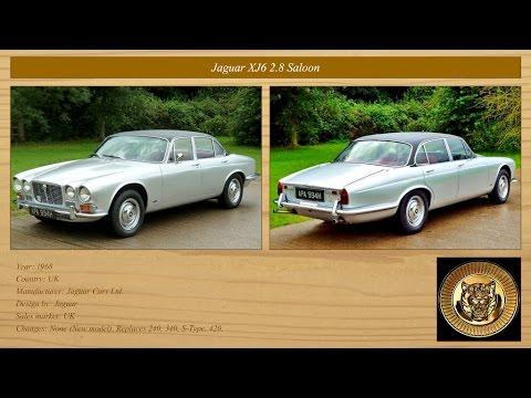 Classic Cars Collection: Jaguar 1966 - 1970