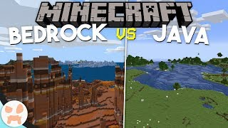 4 Things BEDROCK DOES BETTER than Minecraft Java Edition!