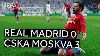 REAL MADRID 0-3 CSKA MOSKVA #UCL HIGHLIGHTS