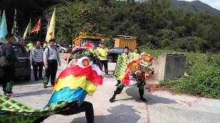2016年江西竹林寺螳螂派李春林功夫麒麟會~客家麒麟會麒麟