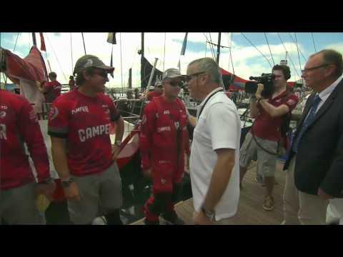 Leg 8: Departure Ceremony | Volvo Ocean Race 2011-12