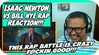 Sir Isaac Newton vs Bill Nye. Epic Rap Battles of History Season 3. REACTION!!!