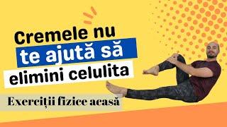 Exerciții pielea lăsată și celulită // Ziua 1