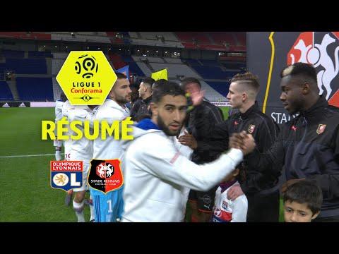Olympique Lyonnais - Stade Rennais FC (0-2)  - Résumé - (OL - SRFC) / 2017-18