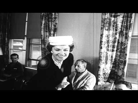 Begum Aga Khan visits Veteran