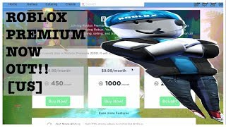 ROBLOX PREMIUM IS NOW OUT FOR THE U.S! | Bye Bye Builders Club!