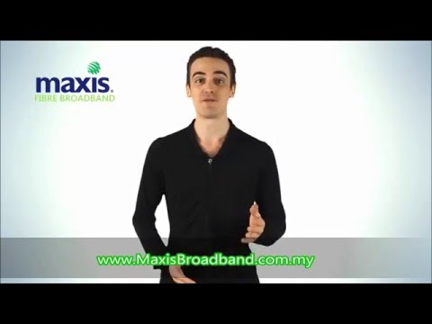 Maxis Fibre Broadband |Maxis Home & Business Fibre | Maxis Internet