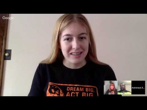 The Mars Generation Live Web Chat with Boeing SLS Engineer Myron Fletcher and Astronaut Abby