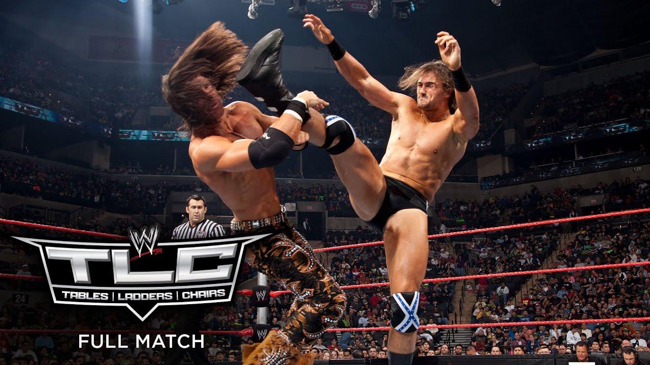 FULL MATCH - John Morrison vs. Drew McIntyre – Intercontinental Championship Match: WWE TLC 2009