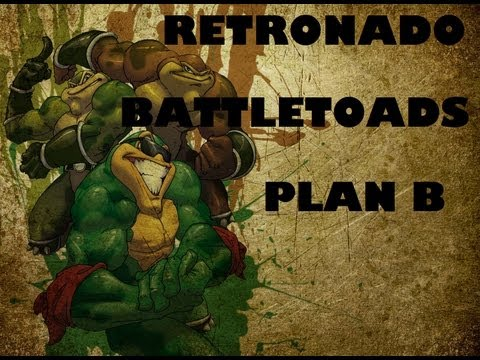 RETRONADO BATTLETOADS (NES) plan B