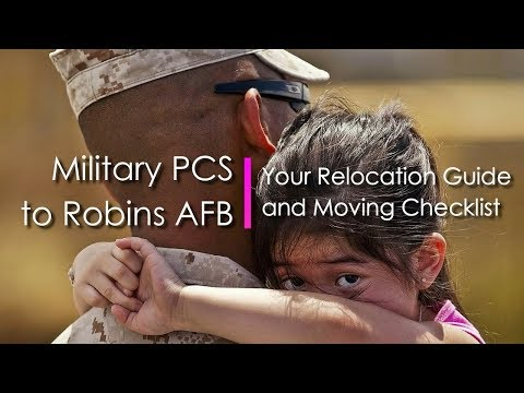 Military PCS to Robins AFB: Your Relocation Guide and Moving Checklist - Call Anita at 478-960-8055